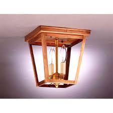northeast lantern small antique copper