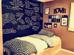 Bedroom:Enchanting Bedrooms Chalkboard Wall Bedroom Artistic Color Decor  Unique In Ideas For Teens Lights