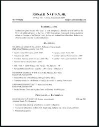 Resume Sample High School Simple Job Resume Template Teenage Resume ...
