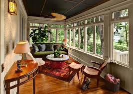 indoor sunroom furniture ideas. Furniture For Sunrooms In Traditional Sunroom With Decor Ideas And Indoor Also Wood Molding Console Table Plus Area Rug T