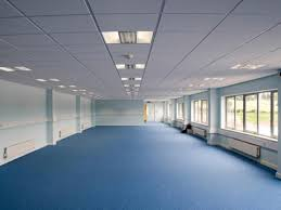 office ceilings. Grid Suspended Ceilings Installed In Offices Swindon UK Office