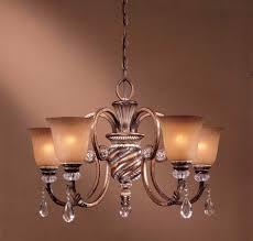 Allen Roth 7 Light Eastview Bronze Chandelier Tuscan Light Fixture Lighting 5 Light Chandelier