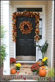 Outside Fall Decor Beautiful Fall Porches Fall Decor Mason Jar Autumn Decor Home