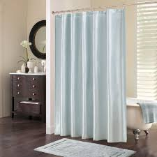 Curtains Light Blue Bathroom Showerurtainurtains Incredible