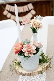 Paper Flower Centerpieces At Wedding Unmistaken Made Lessons Paper Flower Wedding Centerpieces