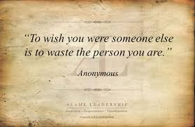 Personal Quotes Adorable AL Inspiring Quote On Being Yourself Alame Leadership