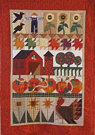 Love this autumn quilt| ... quilts pictorial quilts patchwork ... & Love this autumn quilt| ... quilts pictorial quilts patchwork quilts  student work autumn Adamdwight.com