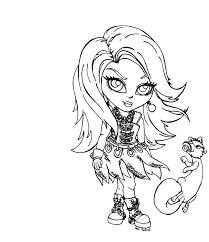 Small Picture Best Monster High Baby Coloring Pages 32 In Free Coloring Kids