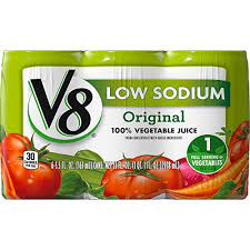 amazon v8 original low sodium 100 vegetable juice 5 5 oz can 6 count grocery gourmet food