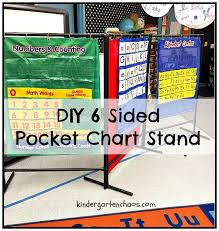 How To Make A Pvc Pocket Chart Stand The Pocket Chart Station In The Kindergarten Classroom