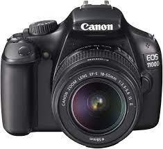 Canon EOS 1100D SLR-Digitalkamera 2,7 Zoll schwarz: Amazon.de: Kamera