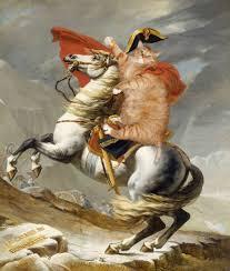 jacques louis david napoleon crossing the alps
