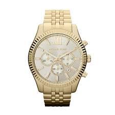 men s michael kors watches ernest jones michael kors men s gold tone bracelet watch product number 9901256