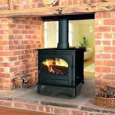 two sided wood burning fireplace double inserts ideas pellet insert