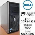 б\в Компютер Dell Optiplex 780 (intel core2Duo E8400 / 2gb ddr3 /без HDD