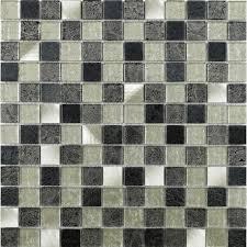 metal floor tiles. Contemporary Metal Silver Leaf Glass U0026 Metal Mosaic To Floor Tiles