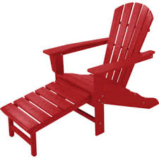 adirondack chairs on beach sunset. Perfect Chairs Polywood South Beach Ultimate Adirondack Chair Hideaway Ottoman Sunset On Chairs E