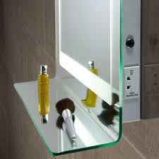 Homey Idea Led Bathroom Mirrors With Shaver Socket Mirror Light