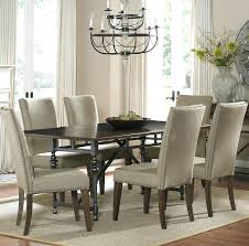 dining set with upholstered chairs liberty furniture ivy park 7 piece dining table and upholstered chair