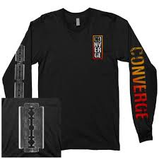converge the blade long sleeve black
