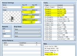 Rpg Stats Chart Super Easy Enemy Balance Method Rpg Maker Forums
