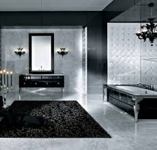 Machen Sie Das Beste Aus Ihrer Badezimmer Einrichtung In Schwarz Weiß