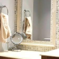 bathroom mirror frame tile. Diy Bathroom Mirror Frame Ideas New . Tile U