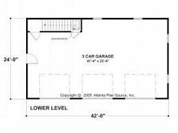 garage door plansCarriage House Plans  CraftsmanStyle Carriage House with 3Car