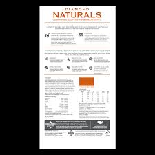 Diamond Dog Food Feeding Chart All Life Stages Dog Chicken Rice Formula