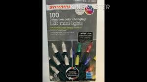 Sylvania Christmas Lights 3 Function Color Changing Sylvania Color Changing Led Christmas Lights