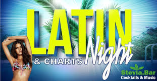 Dancehall Charts Latin Charts Night 7 9 Stevia Bar