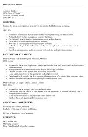Dialysis Nurse Resume Samples 9 Best Photos Of Dialysis Technician Job Description Resume