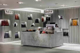 Valextra retail space at Harrods by David Adjaye, London  UK