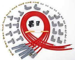 msd ignition 31159 red 2 in 1 universal 8 5mm spark plug wire set msd ignition 31159