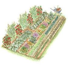 Small Picture A simple small space garden layout with everything youd need to