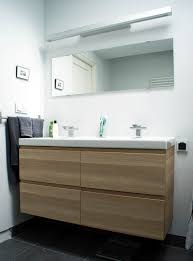 interesting Ikea Bathroom Vanity simple ikea bathroom vanity designing  ideas with floating wooden washing stand and