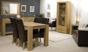 oak dining room set with hutch. dining tables:solid oak table and 4 chairs round with leaf solid room set hutch u
