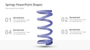 Spring Powerpoint Springs Powerpoint Shapes