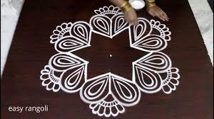 Said Design Muggulu Creative Easy Rangoli By Suneetha Beautiful Kolam Designs