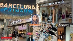 Shopping for Winter   Barcelona   Primark   Lefties   Zara   Punt Roma    Farha's Lifestyle Vlog 10 - YouTube