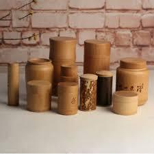<b>Handmade Bamboo Tea</b> Canister Spice <b>Caddy</b> Storage Bottle <b>Tea</b> ...