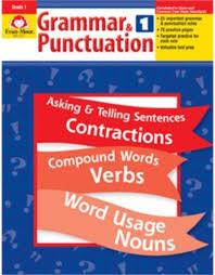 Grammar Punctuation Grammar Punctuation Grade 1