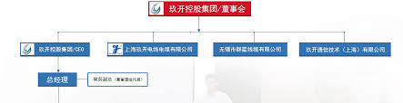 The Wire Organization Chart Organization Chart About Jiukai Shanghai Jiukai Wire