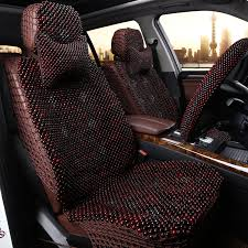 get ations wooden beads cushion summer breathable car seat cushion pad liangdian rosewood small square cushion office chair