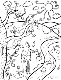 Small Picture spring coloring sheets free printable easy spring coloring pages