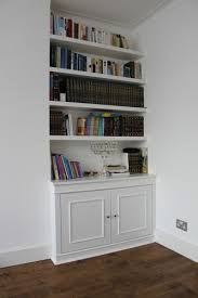 fitted alcove bookcase hendon fitted bookshelves north london