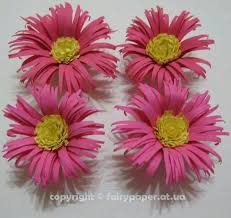 Chart Paper Flowers Step By Step Chart Paper Flowers Quilling Flowers Tutorial Diy Framed