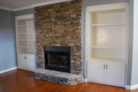 attractive home interior design using stone fireplace wall panels attractive home interior decoration using light