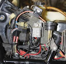 install switched relay dual horns mc how to motorcycle classics almost done we zip tied the relay to the main wiring harness and tucked