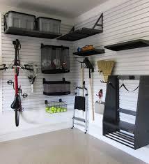 wall garage storage ideas small diy overhead garage storage white wall added nice